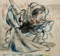 Animation Art:Concept Art, Pinocchio Concept Drawing (Walt Disney, 1940)....