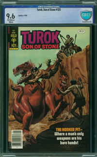 Turok, Son of Stone #125 - CBCS CERTIFIED (Gold Key, 1980) CGC NM+ 9.6 Off-white to white pages