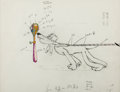 Animation Art:Production Drawing, Society Dog Show Pluto Animation Drawing (Walt Disney,1939)....