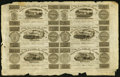 Canadian Currency, Montreal, LC- Champlain & St. Lawrence Rail Road Company Bank 71/2d/15 Sous-15d/30 Sous-2s6d/3 Francs/1 Ecu-7 1/2d/15 Sous-...