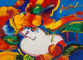Fine Art - Work on Paper, Peter Max (American, b. 1937). Flower Blossom Lady.Lithograph with hand coloring on paper. 16-1/2 x 23 inches (41.9 x5...