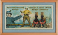 Political:Posters & Broadsides (1896-present), Theodore Roosevelt: Uncle Sam Welcomes TR and the Gold Dust Twins Post-Safari Advertising Sign....