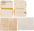Military & Patriotic:Indian Wars, Lt. George D. Wallace: Collection of Six Pieces of Related Ephemera....