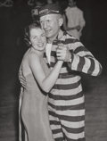 Photographs, Weegee (American, 1899-1968). Burglars Ball, Dr. Hannibal Hamlin and Edna Cobb Dancing at Webster Hall, circa 1940s . Ge...