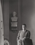 Photographs:Gelatin Silver, Arnold Newman (American, 1918-2006). Vice President Richard M. Nixon, 1953. Gelatin silver, printed later. 9-5/8 x 7-3/4...