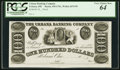 Obsoletes By State:Ohio, Urbana, OH- Urbana Banking Company $100 18__ Unlisted Wolka 2676-59 Proof. ...
