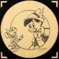 Animation Art:Production Drawing, Pinocchio Illustration (Walt Disney, c. 1980s)....