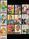 Football Cards:Lots, 1948 to 1960's Football and Basketball Collection (188). ...