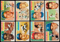Baseball Cards:Lots, 1956 Topps Baseball Collection (137) With Stars....