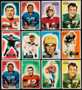 Football Cards:Lots, 1955 Bowman Football Collection (202). ...