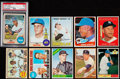 Baseball Cards:Lots, 1961 Through 69 Topps Baseball Collection (27)....