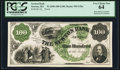 Obsoletes By State:Massachusetts, Newton, MA - Newton Bank $100 18__ G20a Proof. ...