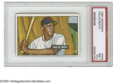 Baseball Cards:Singles (1950-1959), 1951 Bowman Willie Mays #305 PSA NM 7 (OC). Perfect color, glossand registration on this all-important rookie card....