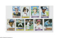 Baseball Cards:Sets, 1979 Topps Baseball Set (726ct.) The 1979 Topps baseball series consists of 726 cards and for the first time, rookies were a...