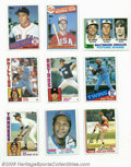 Baseball Cards:Sets, 1982-1985 Topps Baseball Sets 3 ct. The 1982 Topps baseball series consists of 792 cards. Key cards include #5 Nolan Ryan Hi... (3 )