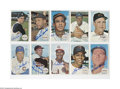 Autographs:Sports Cards, 1964 Topps Giants Signed Lot of 44. High-grade (EX-MT or better) cards offer perfect signatures from the men pictured. Inc...