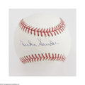 Autographs:Baseballs, Duke Snider Single Signed Baseball. Pristine ONL (White) balloffers a 10/10 blue ink sweet spot signature from this hero o...