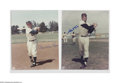 """Autographs:Photos, Baseball Stars Signed Photograph Lot of 53. Large assortment of8x10"""" photos is signed in sharpie by the men pictured. Alm..."""