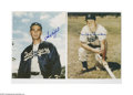 "Autographs:Photos, Baseball Stars Signed Photographs Lot of 50. Large assortment of 8x10"" photos is signed in sharpie by the men pictured. Al..."