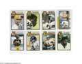 Football Cards:Sets, 1979 Topps Football Set (528ct.) The 1979 set grades an overall NM and includes #1 Staubach/Bradshaw, 160 Tony Dorsett, 308 ...