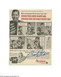 """Football Collectibles:Others, Football Hall of Famers Signed Photographs Lot of 5. Canton's greatest. Included are Terry Bradshaw signed 8x10"""", Franco H..."""