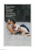"Movie Posters:Adventure, Against All Odds (Columbia, 1984). One Sheet (27"" X 41""). Offeredhere is a vintage, theater-used poster for this romantic t..."