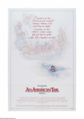 "Movie Posters:Animated, An American Tail (Universal, 1986). One Sheet (27"" X 41""). Offeredhere is a vintage, theater-used poster for this animation..."