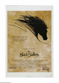 """Movie Posters:Adventure, The Black Stallion (United Artists, 1979). One Sheet (27"""" X 41"""").Offered here is a vintage, theater-used poster for this ad..."""
