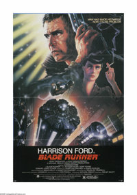 """Blade Runner (Warner Brothers, 1982). One Sheet (27"""" X 41""""). Offered here is a vintage, theater-used poster fo..."""