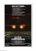 """Movie Posters:Action, Blue Thunder (Columbia, 1983). One Sheet (27"""" X 41""""). Offered here is a vintage, theater-used poster for this crime drama di..."""