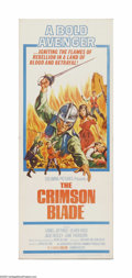 "Movie Posters:Adventure, The Crimson Blade (Columbia, 1963). Insert (14"" X 36""). Offeredhere is a vintage, theater-used poster for this romantic adv..."