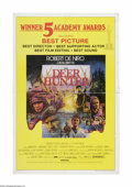 "Movie Posters:War, The Deer Hunter (Universal, 1978). One Sheet (27"" X 41""). Offeredhere is a vintage, theater-used poster for this war drama ..."