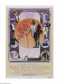 """Movie Posters:Mystery, Evil Under the Sun (Universal, 1982). One Sheet (27"""" X 41"""").Offered here is a vintage, theater-used poster for this crime/m..."""