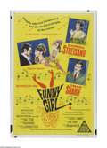 "Movie Posters:Musical, Funny Girl (Columbia, 1968). Australian One Sheet (27"" X 40""). Offered here is a vintage, theater-used poster for this music..."