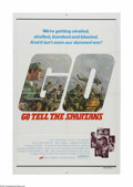 """Movie Posters:War, Go Tell the Spartans (AVCO Embassy Pictures, 1978). One Sheet (27""""X 41""""). Offered here is a vintage, theater-used poster fo..."""