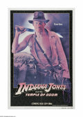 "Movie Posters:Adventure, Indiana Jones and the Temple of Doom (Paramount, 1984). One Sheet(27"" X 41""). Offered here is a vintage, theater-used poste..."