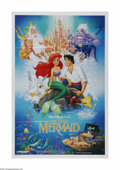 "Movie Posters:Animated, The Little Mermaid (Buena Vista, 1989). One Sheet (27"" X 41"").Offered here is a vintage, theater-used poster for this anima..."