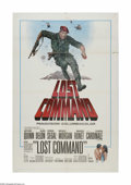 """Movie Posters:War, Lost Command (Columbia, 1966). One Sheet (27"""" X 41""""). Offered hereis a vintage, theater-used poster for this war drama dire..."""