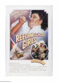 "Movie Posters:Thriller, Reform School Girls (New World Pictures, 1986). One Sheet (27"" X41""). Offered here is a vintage, theater-used poster for th..."