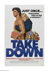 "Take Down (Buena Vista, 1979). One Sheet (27"" X 41""). Offered here is a vintage, theater-used poster for this..."