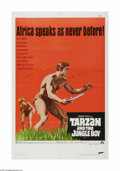 "Movie Posters:Adventure, Tarzan and the Jungle Boy (Paramount, 1968). One Sheet (27"" X 41"").Offered here is a vintage, theater-used poster for this ..."