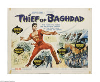 """Thief of Bagdad (MGM, 1961). Half Sheet (22"""" X 28""""). Offered here is a vintage, theater-used poster for this f..."""