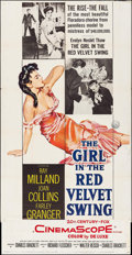 "Movie Posters:Drama, The Girl in the Red Velvet Swing (20th Century Fox, 1955). Three Sheet (41"" X 78""). Drama.. ..."
