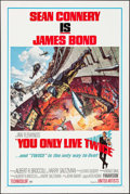 """Movie Posters:James Bond, You Only Live Twice (United Artists, 1967). One Sheet (27"""" X 41"""")Style A, Frank McCarthy with Robert McGinnis Artwork. Jame..."""