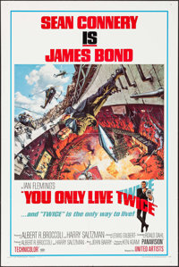 "You Only Live Twice (United Artists, 1967). One Sheet (27"" X 41"") Style A, Frank McCarthy with Robert McGinnis..."