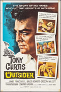 """Movie Posters:War, The Outsider & Others Lot (Universal, 1962). One Sheet (27"""" X41""""). War.. ... (Total: 3 Items)"""