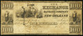 Obsoletes By State:Louisiana, New Orleans, LA- Exchange and Banking Company of New Orleans $100 1836 G12a. ...