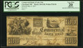 Obsoletes By State:Ohio, Cleveland, OH- Commercial Bank of Lake Erie $100 May 4, 1837 G58 Wolka 0720-36 PCGS Apparent Very Fine 20 . ...