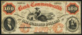 Obsoletes By State:Virginia, Richmond, VA- Bank of the Commonwealth $100 July 1, 1861 G20a Jones BR15-46. ...