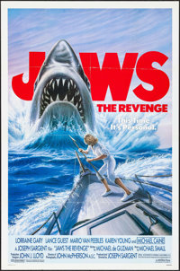 "Jaws: The Revenge (Universal, 1987). One Sheet (27"" X 41""). Thriller"